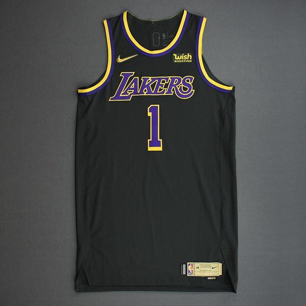 Kentavious Caldwell-Pope - Los Angeles Lakers- Game-Worn Earned ...