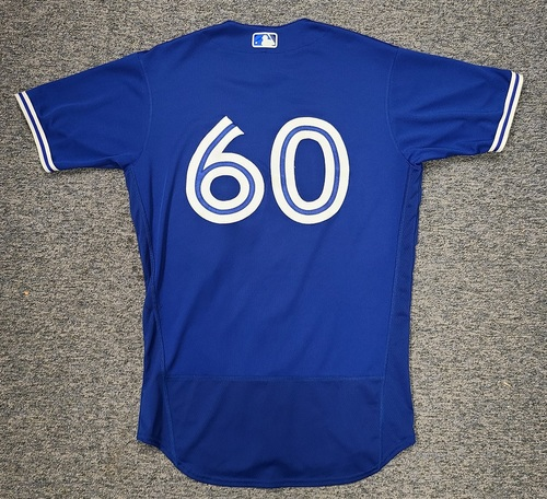 Photo of Authenticated Game Used Spring Training Jersey: #60 Ty Tice (Mar 26, 2021: 0.1 IP, 0 ER. Mar 28, 2021). Size 42.