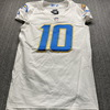 Crucial Catch - Chargers Justin Herbert Game Used Jersey (10/12/20) Size 40
