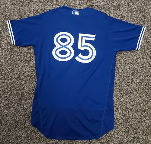Photo of Authenticated Team Issued Spring Training Jersey: #85 Jackson Rees (2021 Season). Size 44.