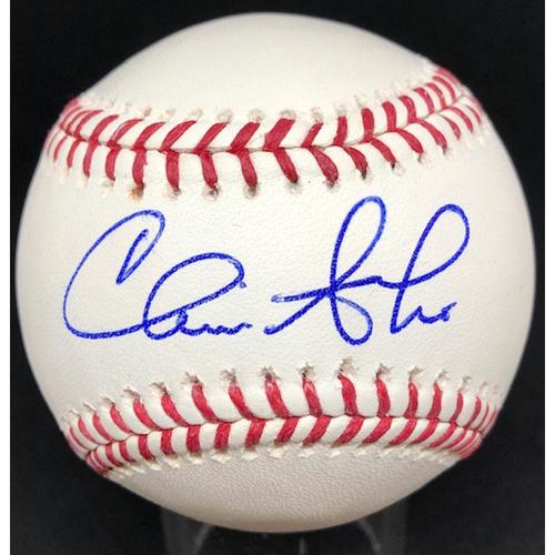 Photo of Chris Sabo -  Autographed Official Major League Baseball