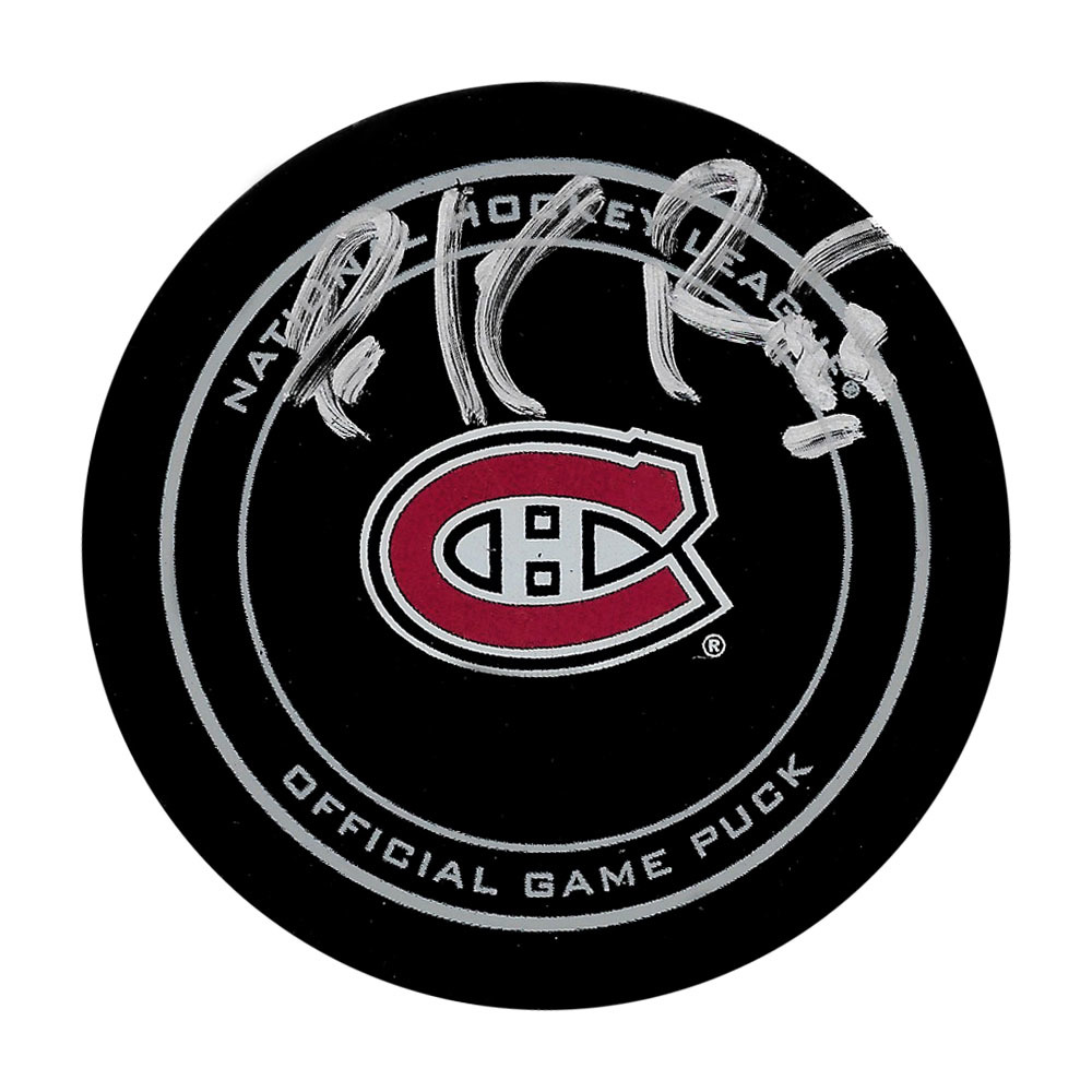 Patrick Roy Autographed Montreal Canadiens Official Game Puck