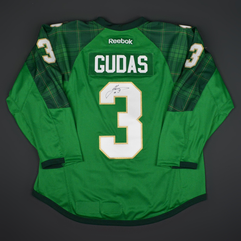 separation shoes ed388 162ff Radko Gudas - Philadelphia Flyers - St. Patricks's Day ...