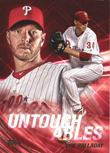 Photo of 2017 Topps Update Untouchables #U18 Roy Halladay