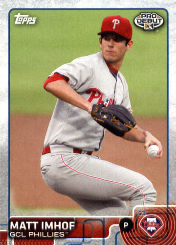 Photo of 2015 Topps Pro Debut #45 Matt Imhof