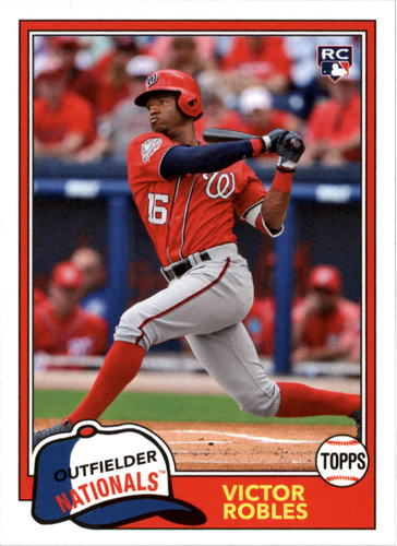 Photo of 2018 Topps Archives #265 Victor Robles RC