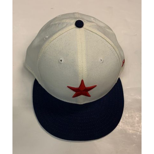 Photo of Game-Used Detroit Stars Cap: Miguel Cabrera