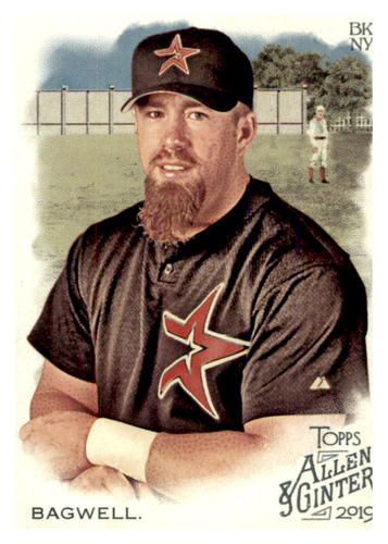 Photo of 2019 Topps Allen and Ginter #31 Jeff Bagwell