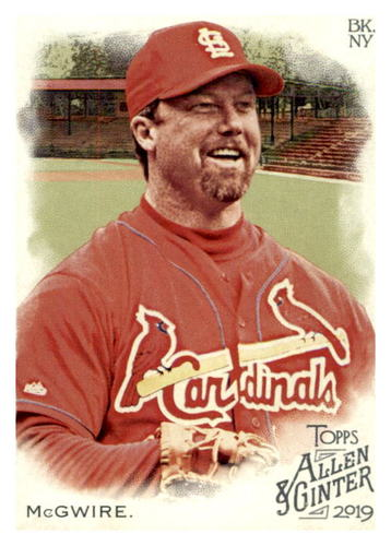 Photo of 2019 Topps Allen and Ginter #61 Mark McGwire