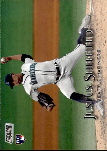 Photo of 2019 Stadium Club #216 Justus Sheffield RC