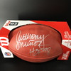 HOF - Bengals Anthony Mu�oz Signed Authentic Football W/ 100 Seasons Logo