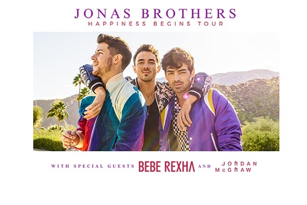 Clickable image to visit Jonas Brothers at Barclays Center - November 23, 2019