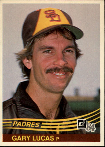 Photo of 1984 Donruss #307 Gary Lucas