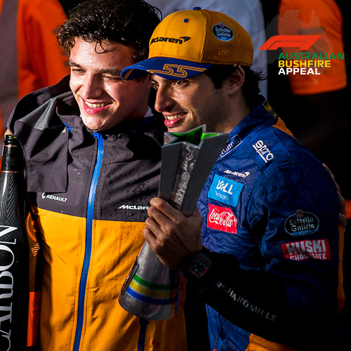 Photo of Meet & Greet - Lando Norris & Carlos Sainz Jr - McLaren