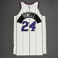 Norman Powell - Toronto Raptors - Game-Worn Classic Edition 1995-96 Home Jersey - 2019-20 Season