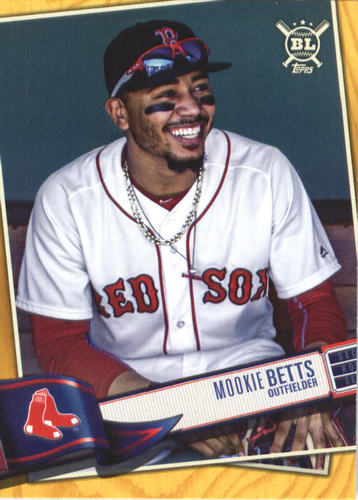 Photo of 2019 Topps Big League Gold #200 Mookie Betts