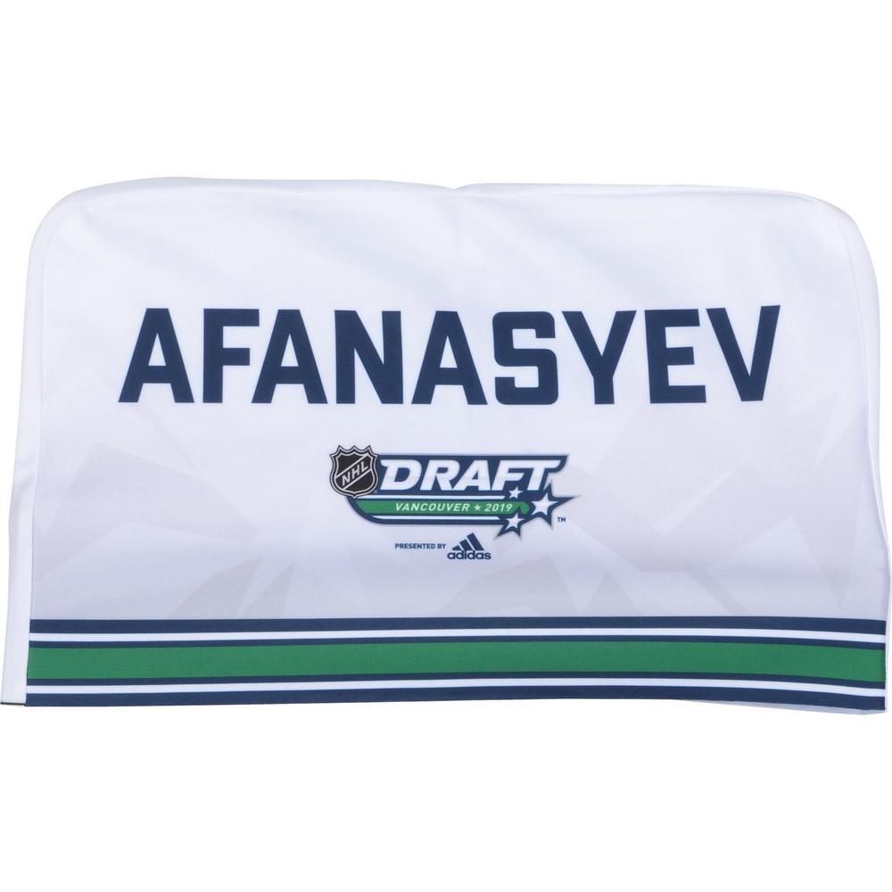 Egor Afanasyev Nashville Predators 2019 NHL Draft Seat Cover - Second set (Not Used)