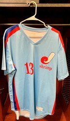 Photo of Jacksonville Expos Fauxback Jersey #13 Size 46