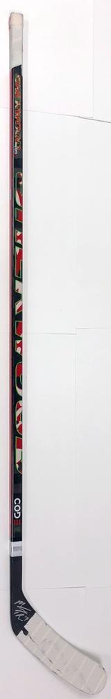 #19 Matthew Tkachuk Game Used Stick - Autographed - Calgary Flames