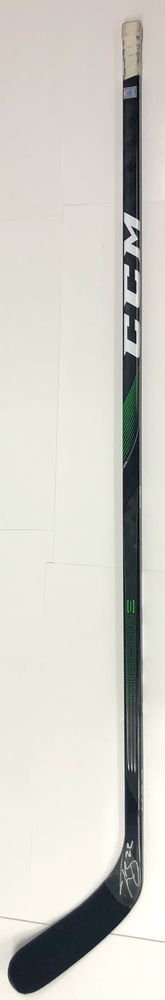 #22 Tyson Barrie Game Used Stick - Autographed - Edmonton Oilers