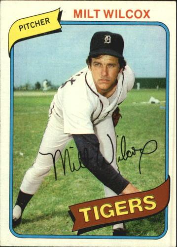 Photo of 1980 Topps #392 Milt Wilcox