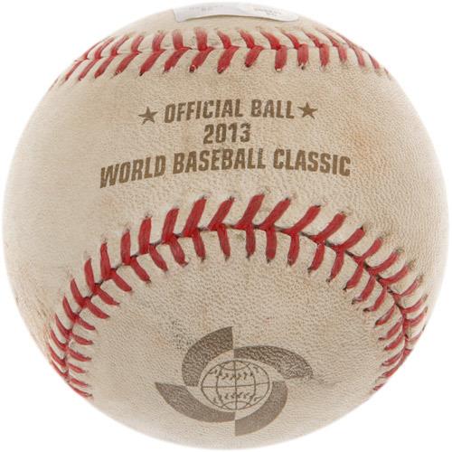 2013 World Baseball Classic: Finals - Puerto Rico vs Dominican Republic - Batter: Edwin Encarnacion, Pitcher: Giancarlo Alvarado, Bottom of 1st, 2 RBI Double
