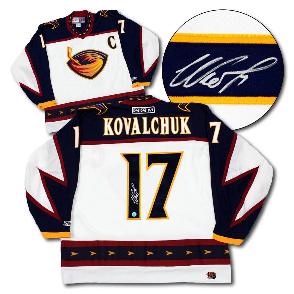 Ilya Kovalchuk Atlanta Thrashers Autographed CCM Retro Hockey Jersey ... dca4c379c