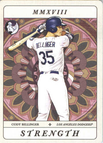 Photo of 2018 Topps Gypsy Queen Tarot of the Diamond #TOD5 Cody Bellinger