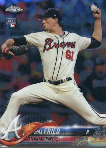 Photo of 2018 Topps Chrome #66 Max Fried RC