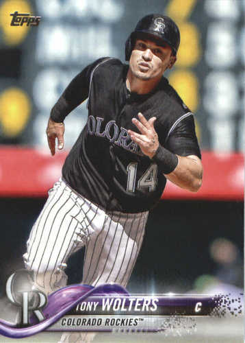 Photo of 2018 Topps #688 Tony Wolters