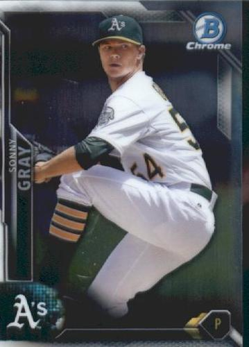 Photo of 2016 Bowman Chrome Vending '16 Bowman #62 Sonny Gray