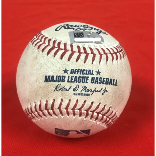 Photo of Juan Soto Single Baseball - April 28, 2019