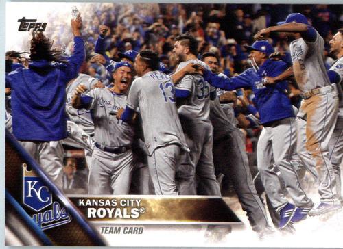 Photo of 2016 Topps #399 Kansas City Royals