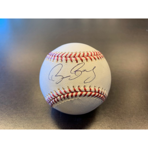 Giants Community Fund: Bruce Bochy Autographed Baseball