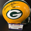 Packers Week 4 Ticket Package (2 tickets vs Eagles + James Lofton Signed Proline Helmet) - Game Date is 9/26