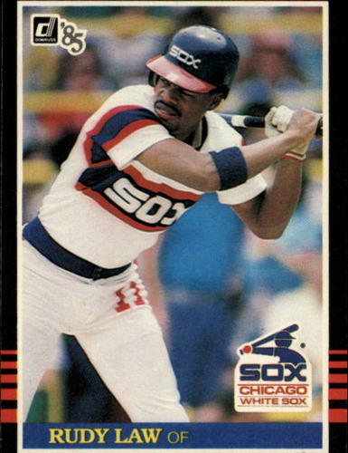Photo of 1985 Donruss #244 Rudy Law