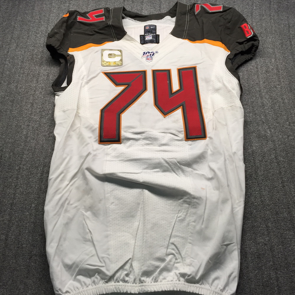NFL Auction | STS - Buccaneers Ali Marpet Game Used Jersey (11/3 ...
