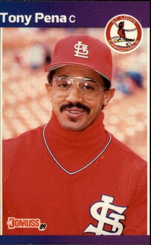 Photo of 1989 Donruss #163 Tony Pena