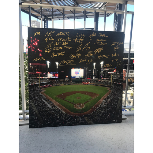 Photo of 2020 Team MLB Authenticated Autographed Canvas