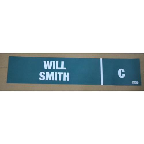 Photo of 2016 MLB Draft Nameplate - Will Smith