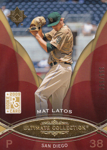 Photo of 2009 Ultimate Collection #76 Mat Latos RC