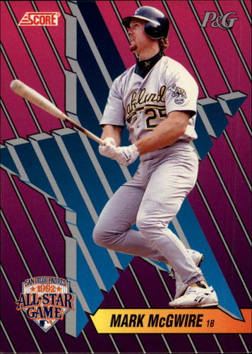 Photo of 1992 Score Proctor and Gamble #2 Mark McGwire