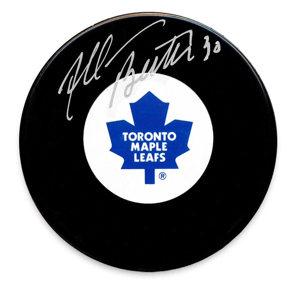 Allan Bester Toronto Maple Leafs Autographed Puck
