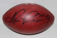 STS - TEXANS SHANE LECHLER GAME ISSUED AND SIGNED FOOTBALL W/ STS RIBBON LOGO (OCTOBER 30 2016)