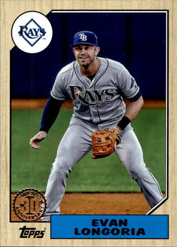 Photo of 2017 Topps '87 Topps #8731 Evan Longoria