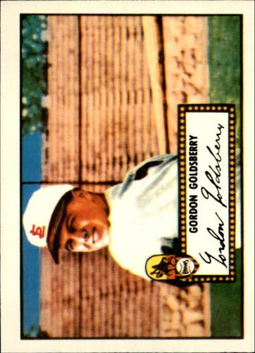 Photo of 1983 Topps 1952 Reprint #46 Gordon Goldsberry