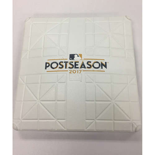 Astros vs Red Sox Team-Issued 2017 ALDS Base