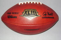 NFL - SUPER BOWL 43 GAME USED FOOTBALL (CARDINALS OFFENSE)