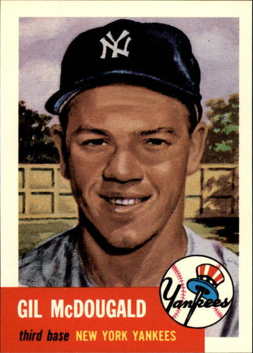 Photo of 1991 Topps Archives 1953 #43 Gil McDougald