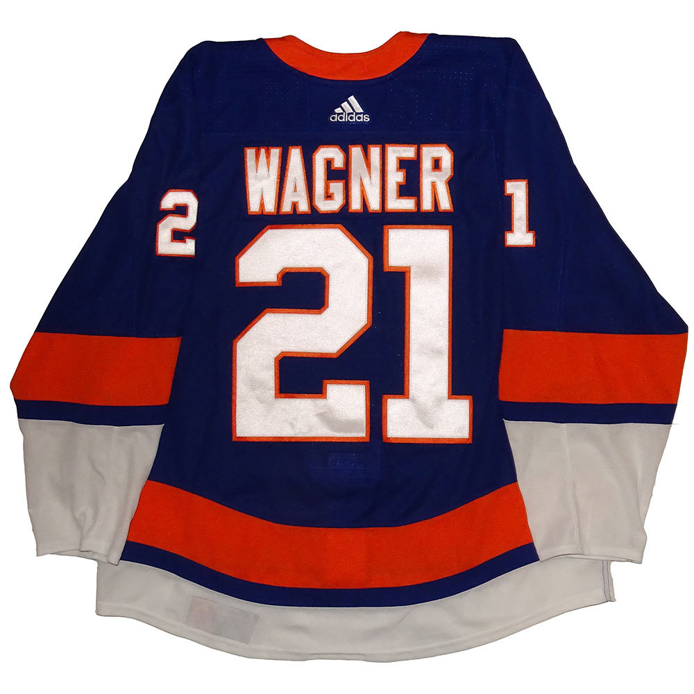 Chris Wagner  - Game Issued Home Jersey - 2017-18 Season - New York Islanders